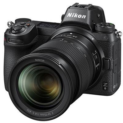 Image of Nikon Z6 Mirrorless Digital Camera w/ 24-70mm Lens + BONUS