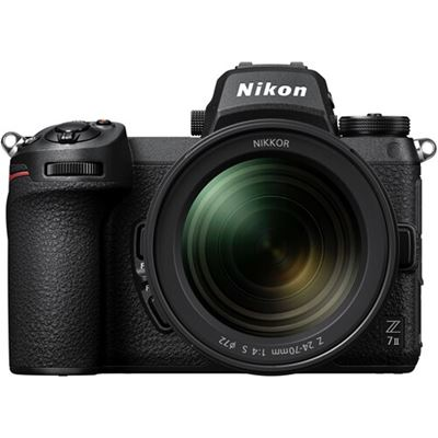 Image of Nikon Z 7II Mirrorless Digital Camera w/ 24-70mm F4 Lens