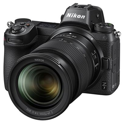 Image of Nikon Z7 Mirrorless Digital Camera w/ 24-70mm F4 S Lens + BONUS