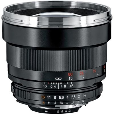 Compare Prices Of  Zeiss 85mm F1.4 Planar T* ZF.2 (Nikon mount)