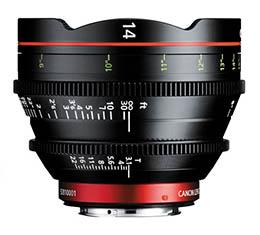 Image of Canon CN-E 14mm T3.1 L F Cinema Lens (EF Mount)