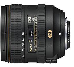 Image of Nikkor AF-S DX 16-80mm f/2.8-4E ED VR Lens