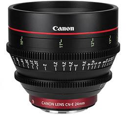 Compare Prices Of  Canon CN-E 24mm T1.5 L F Cine Lens (EF Mount)