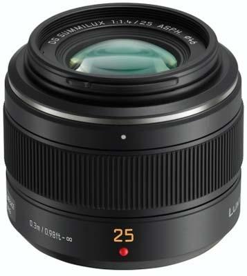 Image of Panasonic Leica DG Summilux 25mm F1.4 ASPH.(Micro Fourth Thirds Mount)