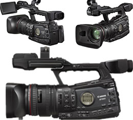 Image of Canon XF305 w/ 29-527mm F1.6-2.8 Professional Camcorder
