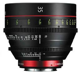 Image of Canon CN-E 35mm T1.5 L F Cine Lens (EF Mount)