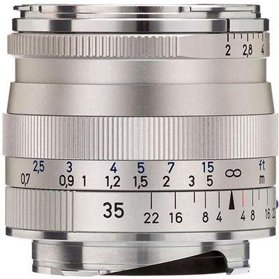 Image of Zeiss 35mm f2 Biogon T* ZM Silver (M Mount)