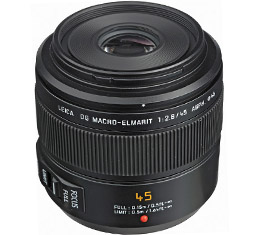 Image of Panasonic Leica DG Macro-Elmarit 45mm F2.8 ASPH. MEGA O.I.S. Lens (Black) Damage Box