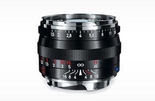 Image of Zeiss 50mm f1.5 C Sonnar T* ZM Black (M Mount)