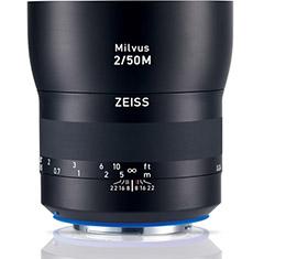 Image of Zeiss Milvus 50mm F2M ZE Lens (for Canon EF)
