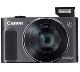 Image of Canon PowerShot SX620 HS Digital Camera (Black)