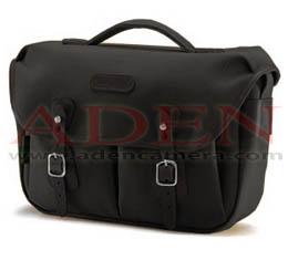 Image of Billingham Hadley Pro (Black canvas, black leather, nickel fittings)