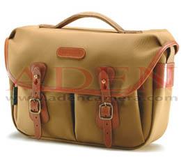 Image of Billingham Hadley Pro (Khaki canvas, tan leather, brass fittings)