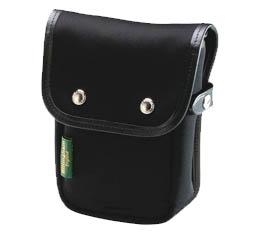 Image of Billingham Delta Pocket (Black FibreNyte, Black Leather)