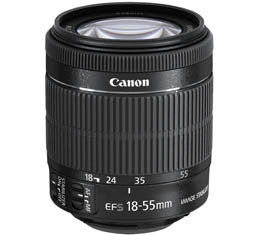 Image of Canon EF-S 18-55mm f3.5-5.6 IS STM