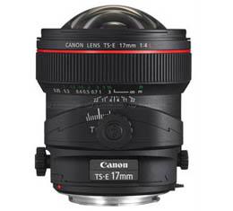 Image of Canon TS-E 17mm f4L Tilt-Shift Lens