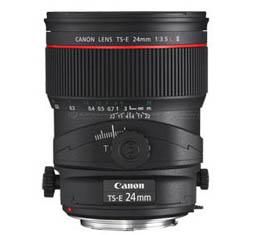 Image of Canon TS-E 24mm f3.5L II Titl-Shift Lens