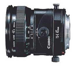 Image of Canon TS-E 45mm f/2.8 Tilt-Shift Lens