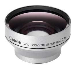Compare Prices Of  Canon WD-H34 Wide Angle Converter