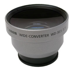 Image of Canon WD-30.5 Wide Converter (ZR Series)