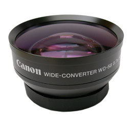 Image of Canon WD-58H Wide Converter (GL2)