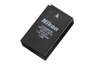 Image of Nikon EN-EL20a Lithium Ion Battery for
