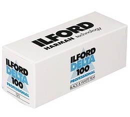 Image of Ilford Delta 100 Black & White Print Film - 120 Roll