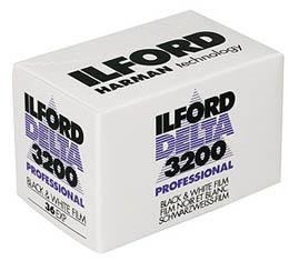 Image of Ilford Delta 3200 Black & White Print Film - 135-36exp
