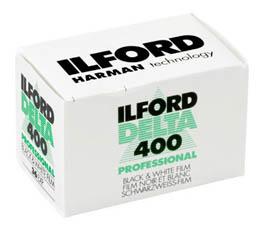 Image of Ilford Delta 400 Black & White Print Film - 135-36exp