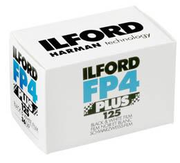 Image of Ilford FP4 Plus 125 Black & White Print Film - 135-36exp