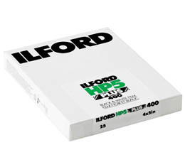 Compare Prices Of  Ilford HP5 Plus 400 Black & White Print Film - 4x5 Sheet Film (25shts)
