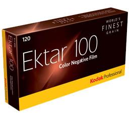 Image of Kodak Professional Ektar 100 Color Print Film - 120 Roll ProPack (5 Rolls)