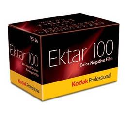 Image of Kodak Professional Ektar 100 Color Print Film - 135-36exp