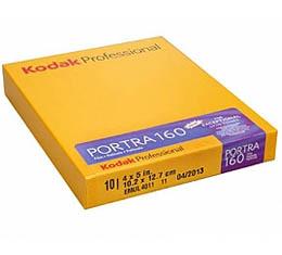 Image of Kodak Professional Portra 160 Color Print Film - 4x5 Sheet Film (10shts)