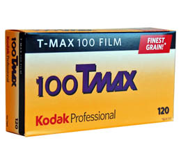 Image of Kodak Professional T-Max 100 Black & White Print Film - 120 Roll ProPack (5 Rolls)