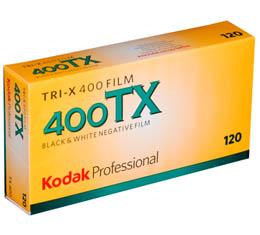 Compare Prices Of  Kodak Professional Tri-X 400 Black & White Print Film - 120 ProPack (5 Rolls)