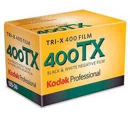 Image of Kodak Professional Tri-X 400 Black & White Print Film - 135-24exp