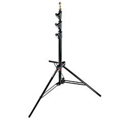 Image of Manfrotto #1004BAC - Air Cushioned Master Black Light Stand