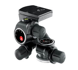 Image of Manfrotto #410 Junior Geared Head w/RC4 Quick Release Plate