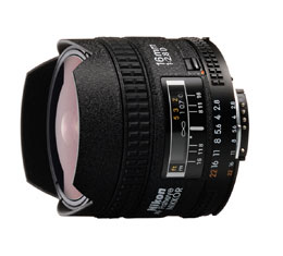 Image of Nikkor AF 16mm F2.8D Fisheye