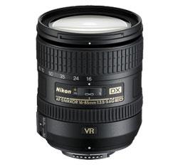 Image of Nikkor AF-S DX 16-85mm f/3.5-5.6G ED VR II