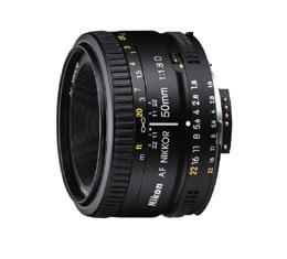 Image of Nikkor AF 50mm f1.8D