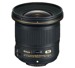 Image of Nikkor AF-S 20mm F1.8G ED + Bonus Item