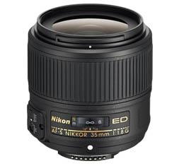 Image of Nikkor AF-S 35mm F1.8G ED