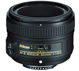 Compare Prices Of  Nikkor AF-S 50mm f1.8G