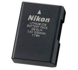 Image of Nikon EN-EL14a Lithium Ion Battery