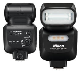 Image of Nikon SB-500 Speedlight