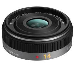 Image of Panasonic Lumix G 14mm F2.5(Micro Four Thirds Mount)
