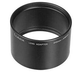 Image of Panasonic DMWLA4 Lens Conversion Adaptor - 46mm, for LX3