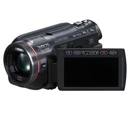 Image of Panasonic HDC-HS700HDD / SD Hybrid Full HD Camcorder